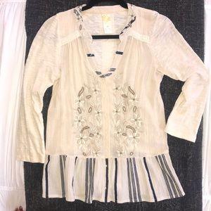 Anthro blouse, vintage